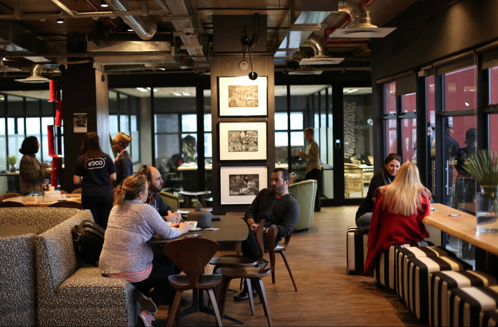 A photo of Work & Co coworking.