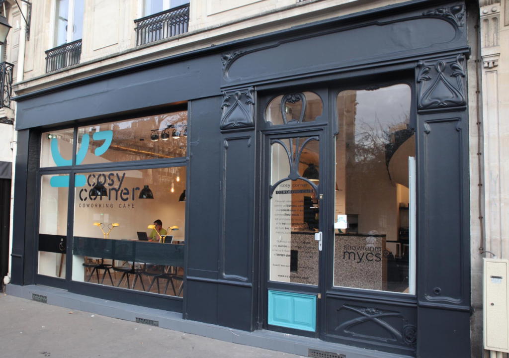 A coworking space in Paris.