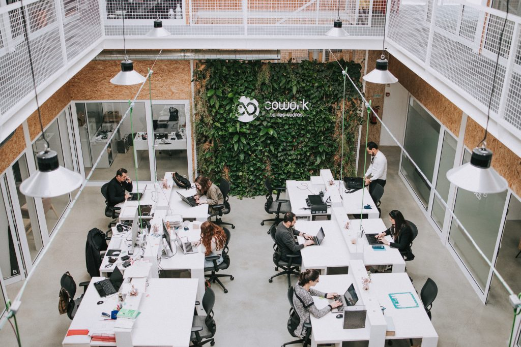 A coworking space in Torres Vedras.