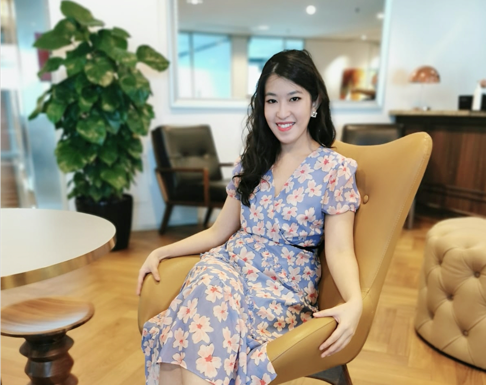 A photo of one of Servcorp's community managers, Audrey Woo.
