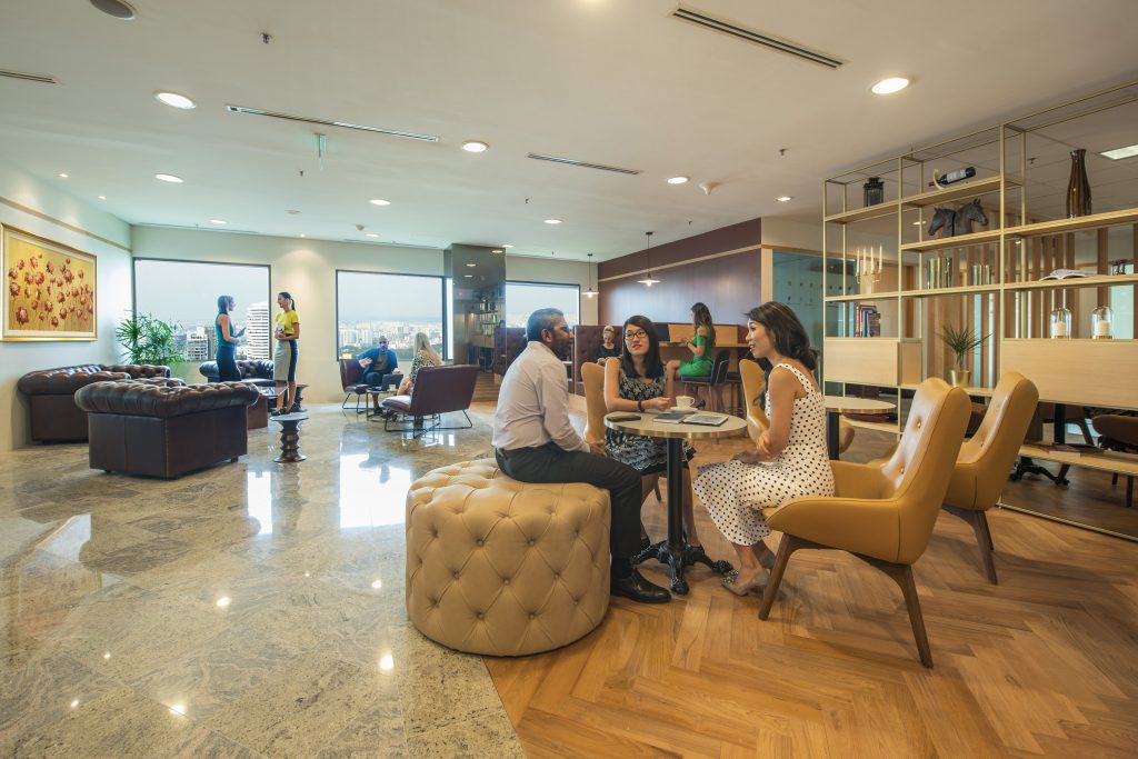 A Servcorp coworking space.