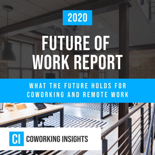 A title page from the Future of Work report.