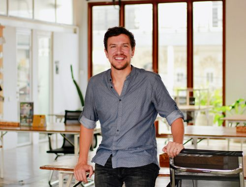 A coworking space general manager in Bali.