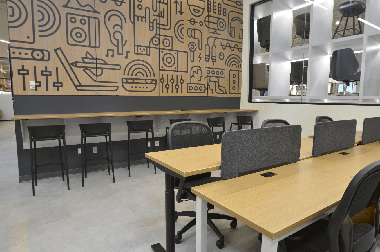 A coworking space in Canada.