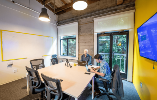 A coworking space in San Francisco.