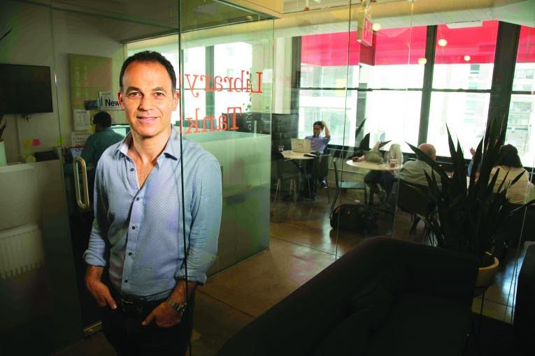 Steven Cohen, the CEO of Nomadworks coworking space in NYC.