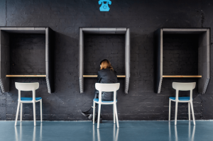 A coworking space in London.