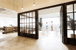 A coworking space in Hong Kong