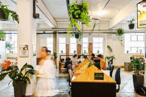 A coworking space in Australia.