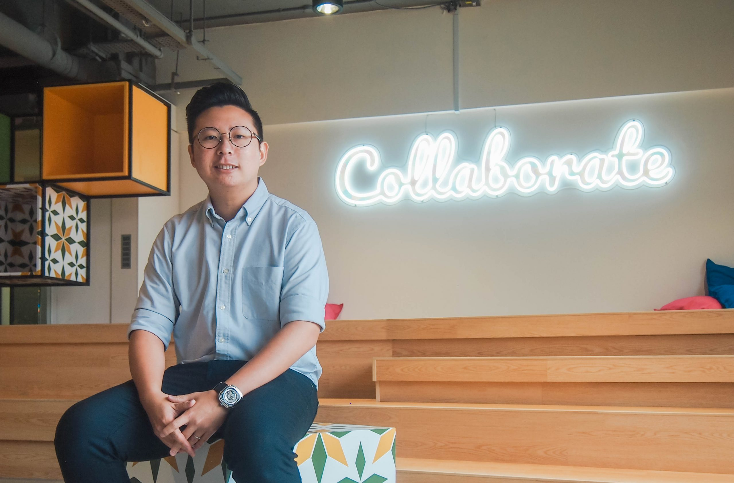 The coworking manager at MOX in Singapore and Malaysia.