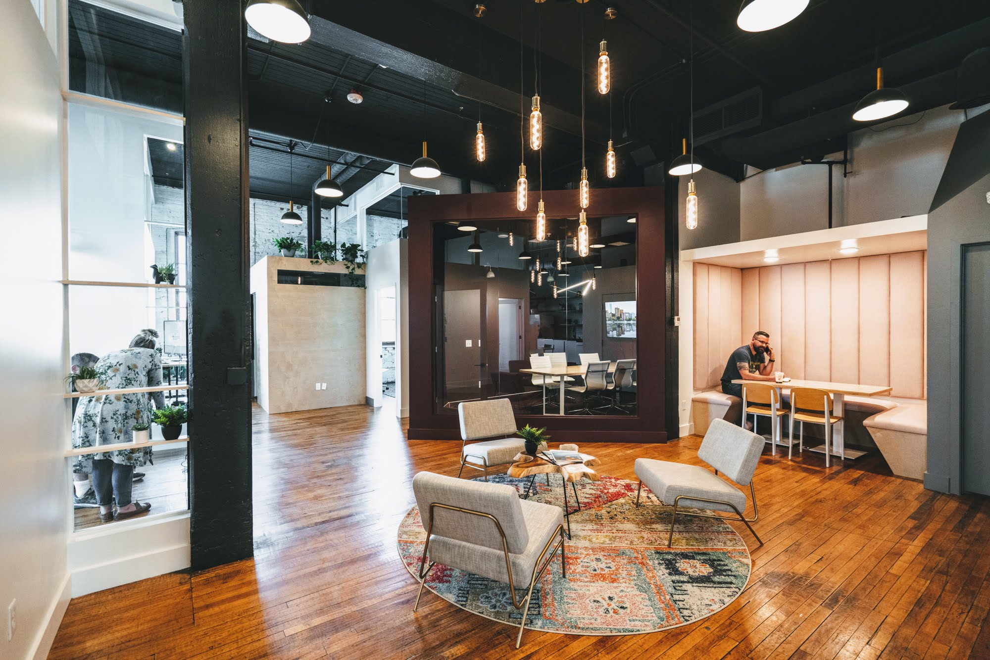 A coworking space
