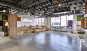 A coworking space in Singapore.