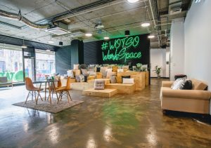 A coworking chain in APAC.