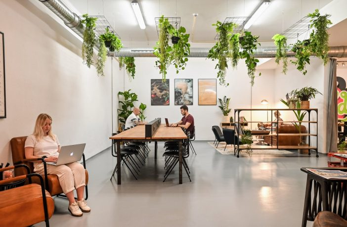 A coworking space in Portugal.