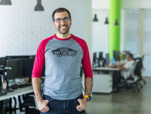 A coworking founder in Bulgaria.