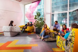 Campus X, a coworking space in Sofia.