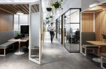 A coworking space in Australia.