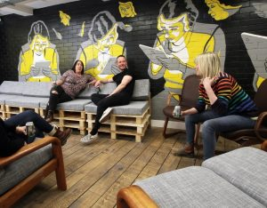 A coworking space in Nottingham.