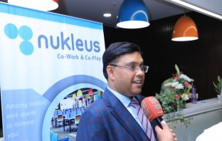 The founder and CEO of Nukleus Coworking in India.