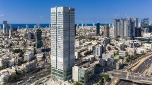 A sky view of Tel Aviv.