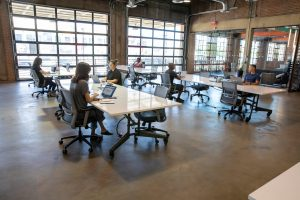 A coworking space in Phoenix.
