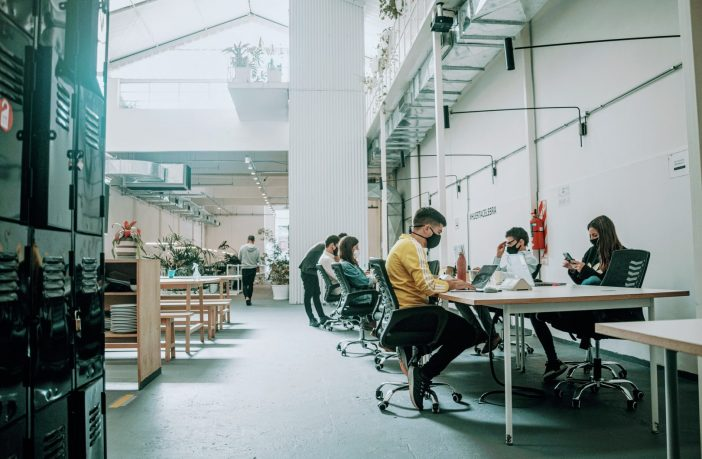 A coworking space in Buenos Aires.