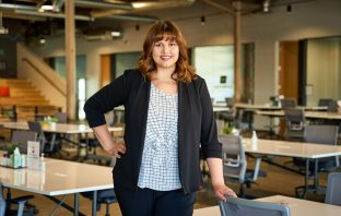 A photo of Galvanize manager Miranda Torres.