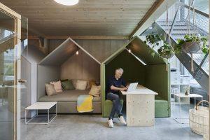 A coworking space in Zurich.