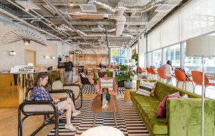 A coworking space in Malaysia.