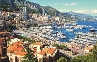 A view of Monaco.