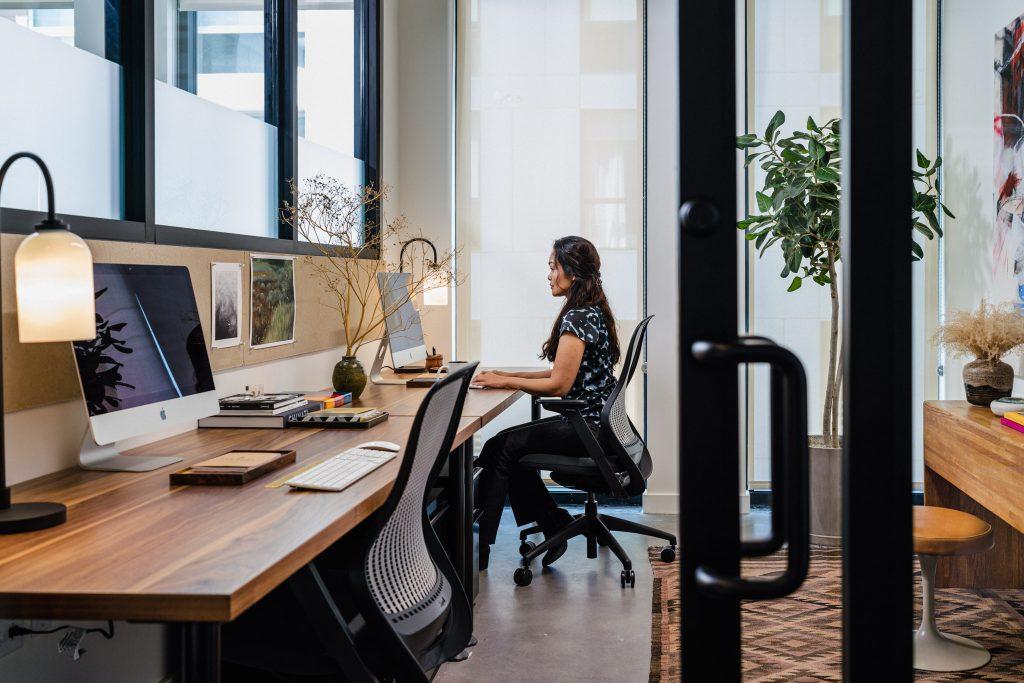 A new coworking space in Salt Lake City, Utah.