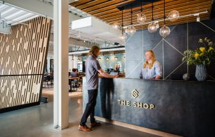 The latest mixed-use coworking space in downtown SLC.
