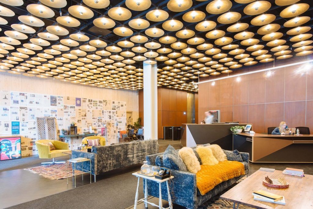 A WeWork location in New York City.
